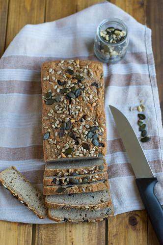 Pan trigo sarraceno/Buckwheat bread