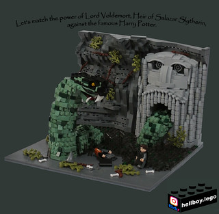 Harry Potter - Chamber of Secrets | by hellboy.lego