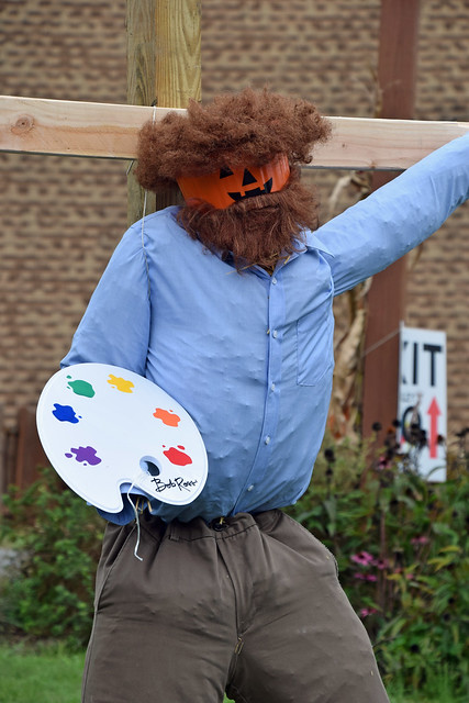 Bob Ross, the Scarecrow