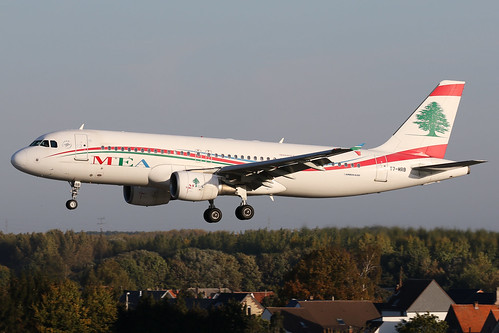 Middle East Airlines - Airbus A320-214 - T7-MRB | by Jesse Vervoort