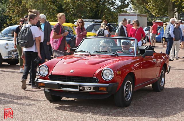 Fiat 124 Spider produite chez Pininfarina