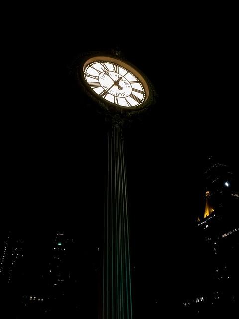 NY bei Nacht