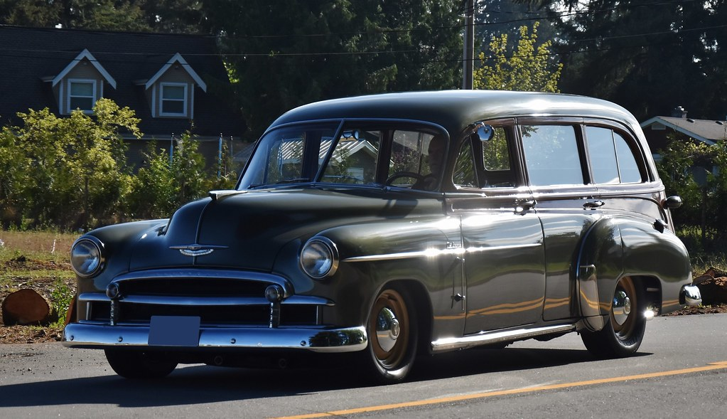 fadecc902 1950 Chevrolet Styleline Deluxe station wagon | Custom_Cab | Flickr