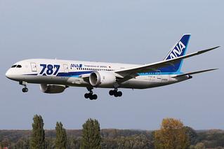 All Nippon Airways - Boeing 787-8 Dreamliner - JA-820A | by Jesse Vervoort