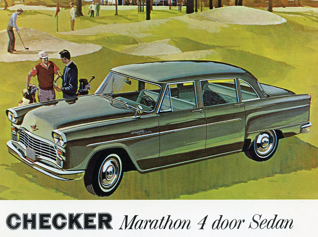 1965 Checker Marathon 4 Door Sedan