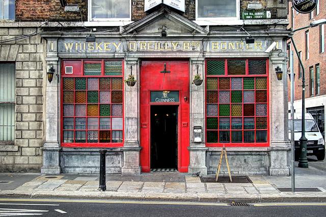 IE Dublin - interesting facades/architecture - O'Reilly Bros. Whiskey Bonder