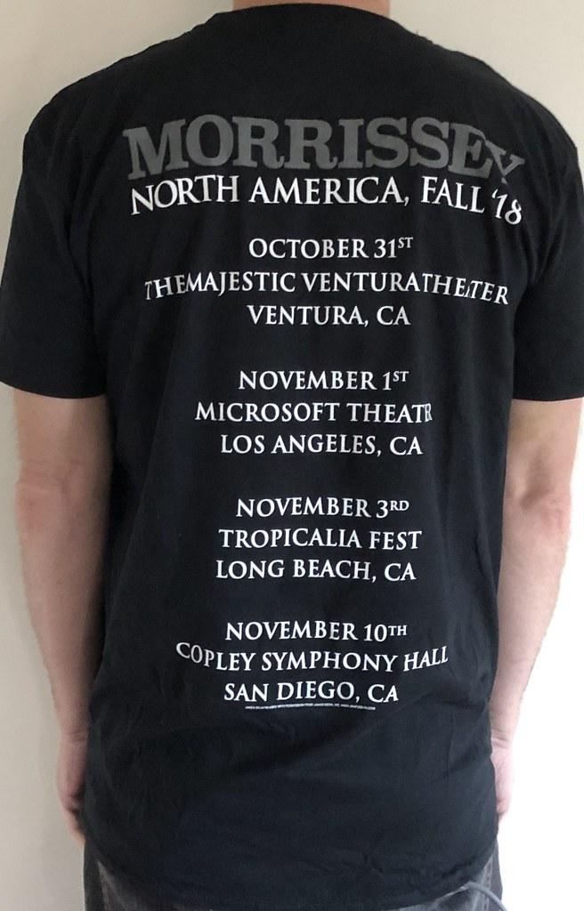 d97b90a65a4 3155B Morrissey - James Dean North America Fall 2018 Tour…