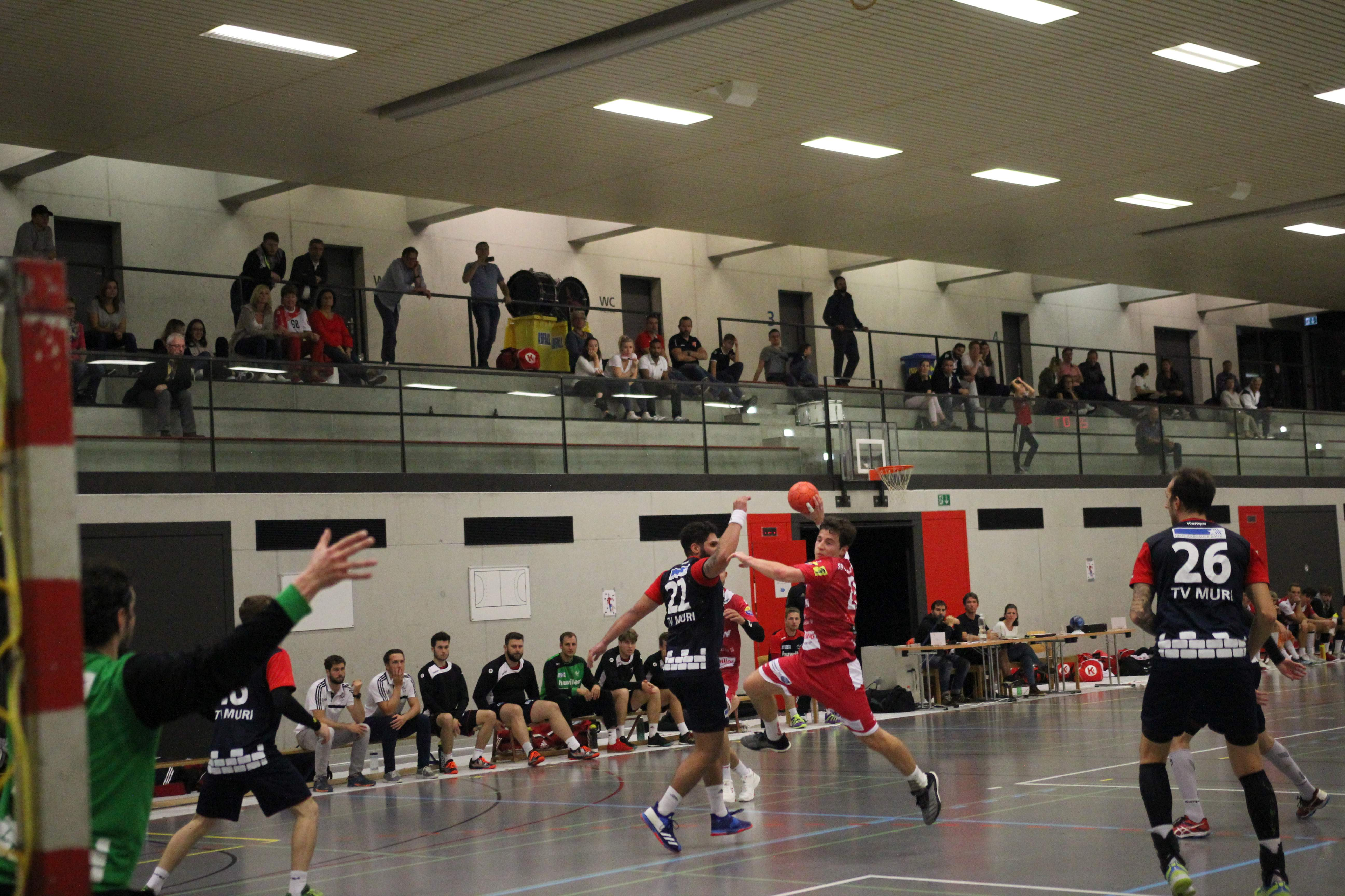 06.10.2018 - 1.Liga Gr.3 SG Horgen/Wädenswil - TV Muri 24:32 (10:19)