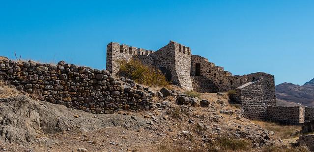 Castle Wall -  Myrina Castle (Limnos (Greece) Panasonic Lumix LX15 Compact (1 of 1)