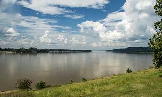 The Mississippi River at Natchez