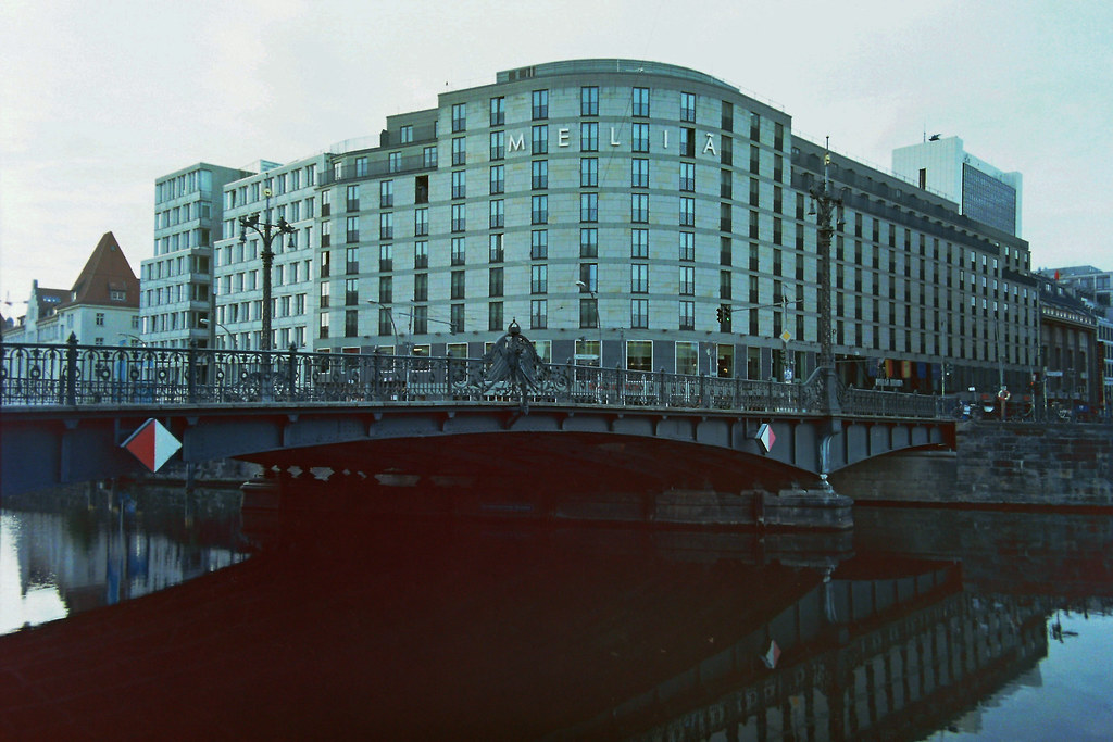 Berlin Mitte Weidendammer Brücke 16.8.2018