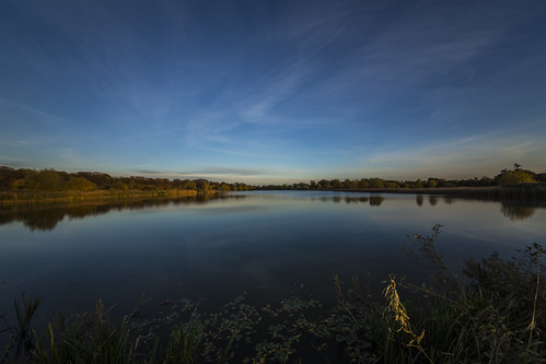 canon6d lake landscape waterscape water reflection trees nature outdoors sky blue clouds uk cambridgeshire
