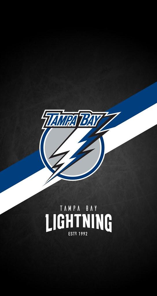 Tampa Bay Lightning Nhl Iphone 6 7 8 Lock Screen Wallpaper A