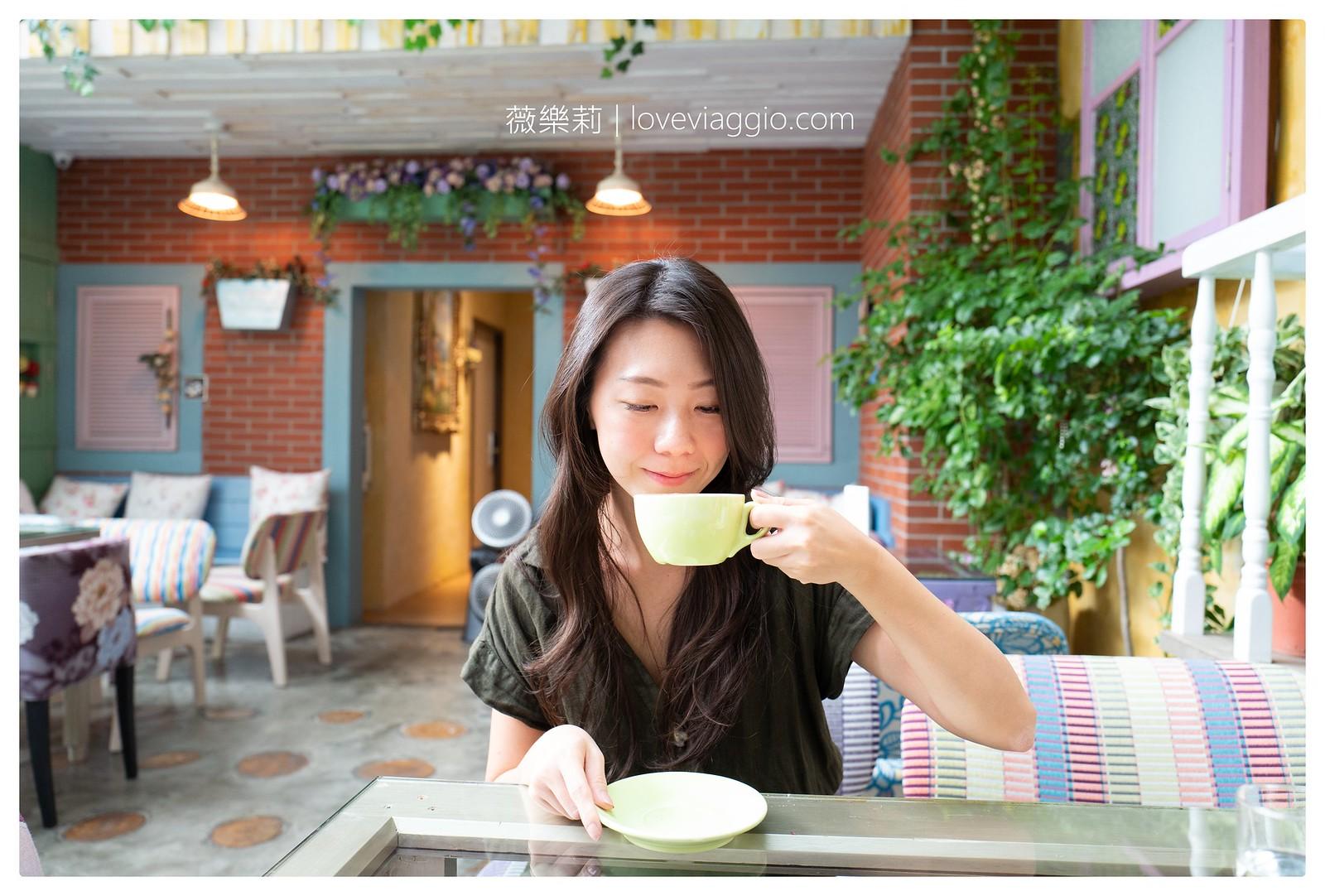 【台北 Taipei】大稻埕花園旅店餐廳 D.G. Hotel & Cafe 花園風格平價溫馨住宿 @薇樂莉 Love Viaggio | 旅行.生活.攝影