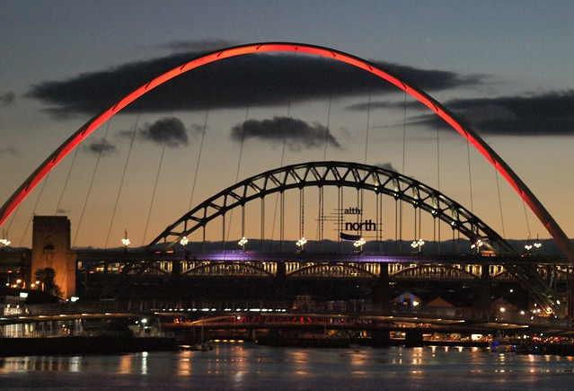 Millennium Bridge - Red Arch
