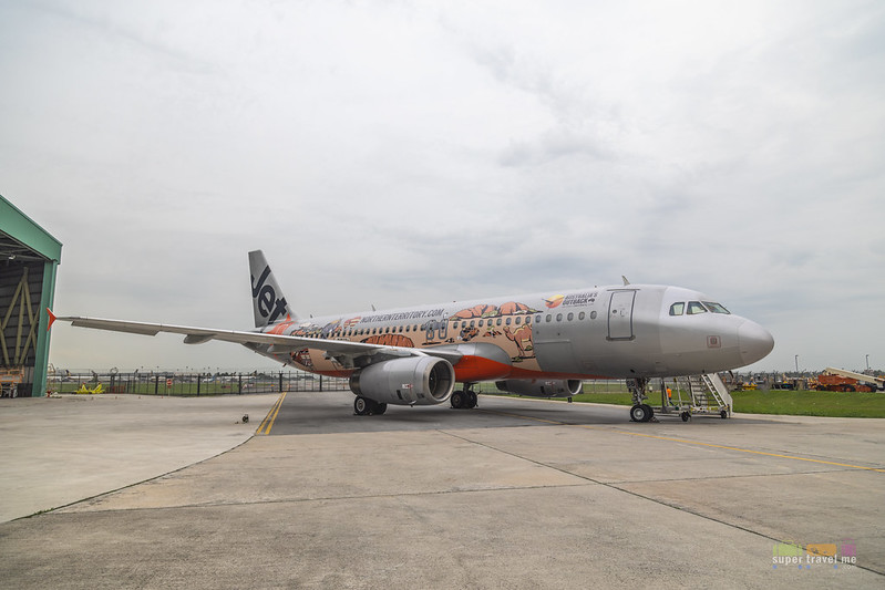 Jetstar Asia Celebrates 10 years of Direct Services between Singapore and Darwin with Special Livery