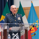 Thu, 09/20/2018 - 14:20 - On Thursday, September 20, 2018, the William J. Perry Center for Hemispheric Defense Studies honored General Salvador Cienfuegos Zepeda, Secretary of National Defense of Mexico, and Escola Superior de Guerra (ESG), National War College of Brazil, with the 2018 William J. Perry Award for Excellence in Security and Defense Education. Named after the Center's founder, former U.S. Secretary of Defense Dr. William J. Perry, the Perry Award is presented annually to individuals who and institutions that have made significant contributions in the fields of security and defense education. From the many nominations received, awardees are selected for achievements in promoting education, research, and knowledge-sharing in defense and security issues in the Western Hemisphere. Awardees' contributions to their respective fields further democratic security and defense in the Americas and, in so doing, embody the highest ideals of the Center and the values embodied by the Perry Award.