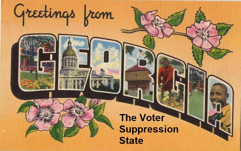 Georgia, the Voter Suppression State