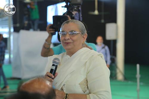 Member Executive Committee SNM, Rajvasdev Singh, expresses her views