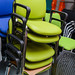 E35 stackable meeting chairs
