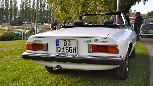 Alfa Romeo Spider 2000 Veloce Fastback I 1971-1975