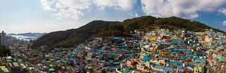 Gamcheon culture village   by Andrey Grushnikov
