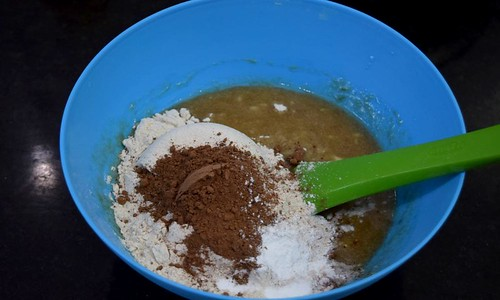 Dry Ingredients for Best Banana Cake