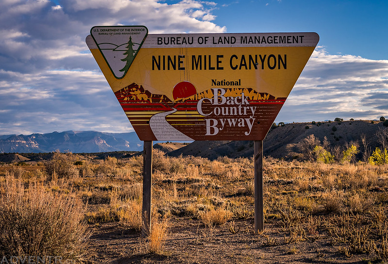Nine Mile Canyon Backcountry Byway