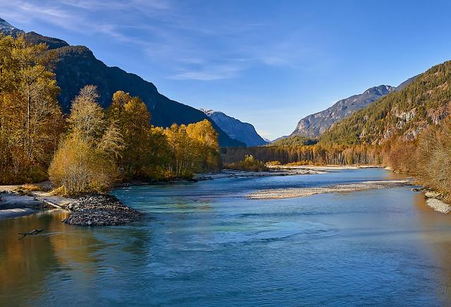 Autumn, Squamish River Valley