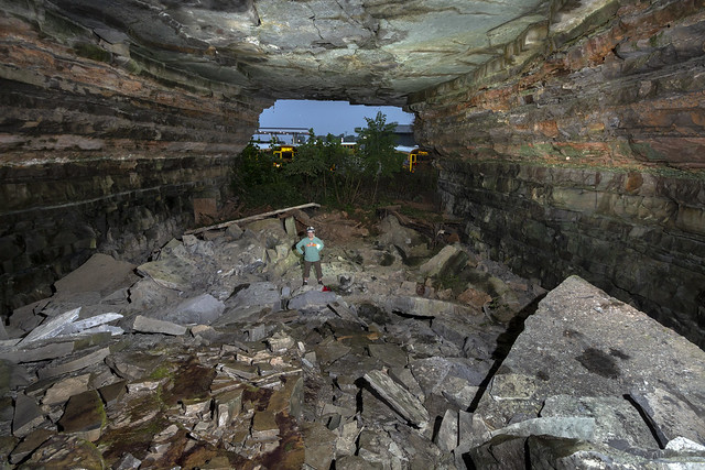 Quarry, St. Louis limestone, Putnam County, Tennessee 2