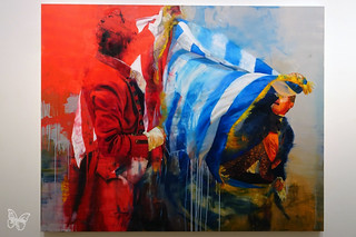 Conor Harrington - the Storyof Us and Them | by Butterfly Art News