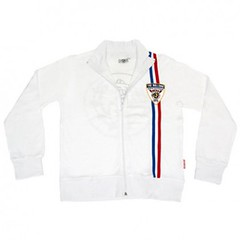 The Bulldog Amsterdam - Ladies' Track Jacket - White - END OF LINE  70% OFF