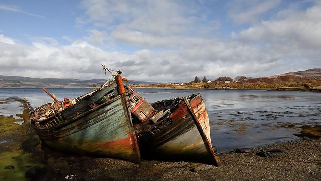 Salen Fishing Boats!