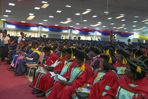 Some members of Convocation and graduands