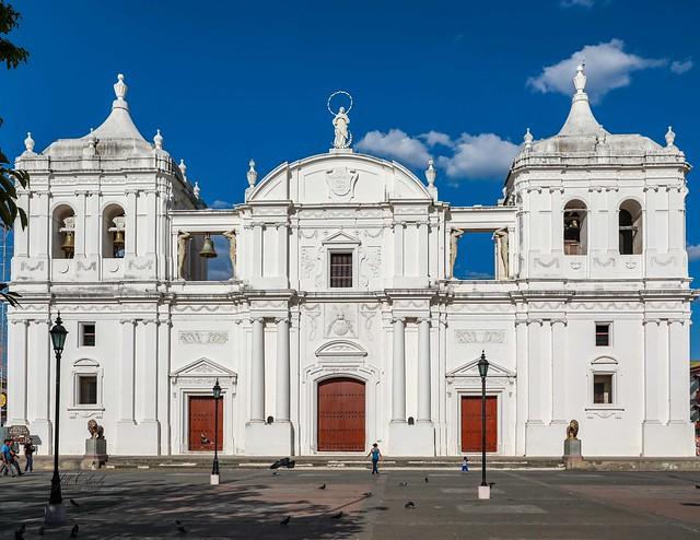 Basilica Catedral de la Asuncion, Leon, Nicaragua