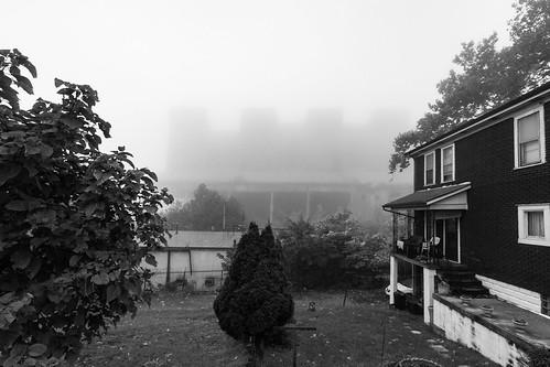 weirton westvirginia unitedstates us blackandwhite rustbelt weirtonsteel fog