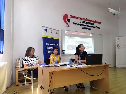 Obuka za funkcionere i zaposlene u obrazovanju i vaspitanju, Leskovac, Septembar 2018