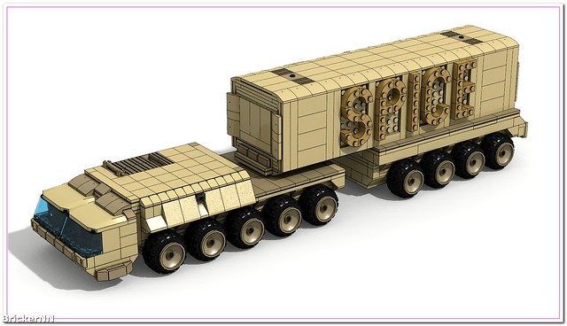 Lego Truck. Dune. Expanded Universe.