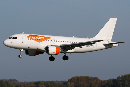 easyJet - Airbus A319-111 - G-EZEH | by Jesse Vervoort