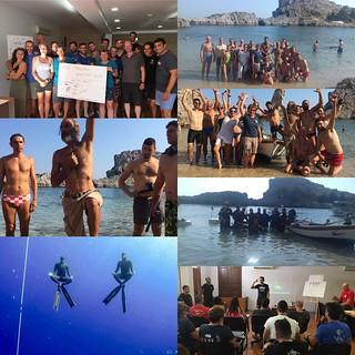 #Wild #freediving #workshop #lindos #ApneaEvolution #love #sea #freedive #ocean #ilmaretieneunitoilmondo #theseakeepstheworldtogether | by Apnea Evolution