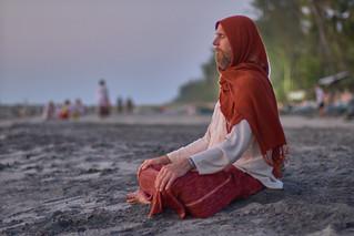 India, Vallikavu, Amritapuri, ashram Amma beach