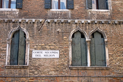 Corte Seconda del Milion, leggende del sestiere Cannaregio