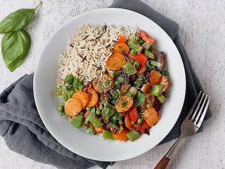 Greek Basil Wild Rice Dish | by ella.o
