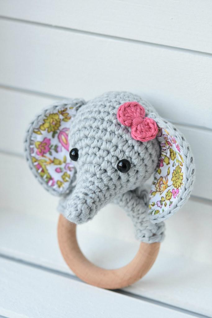 Amigurumi Crochet Elephant Free Pattern | Crochet elephant ... | 1024x683
