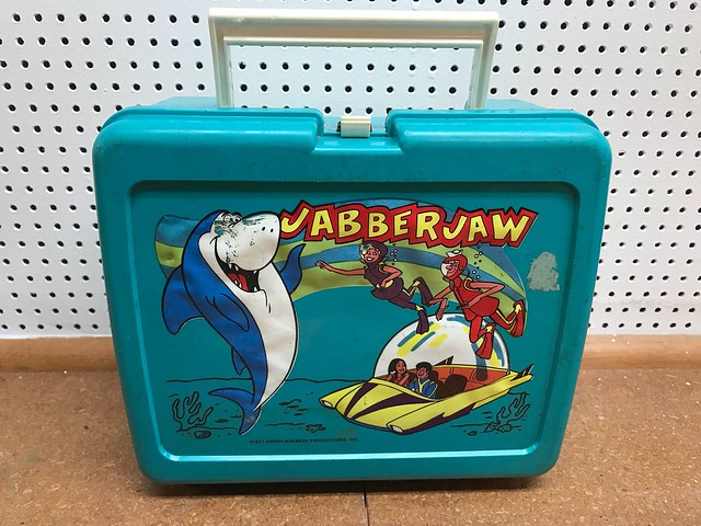1977 Jabberjaw Cartoon Lunchbox