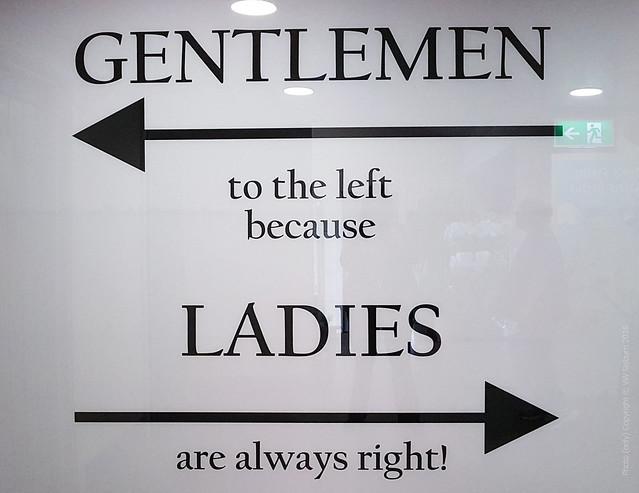 Ladies are always right
