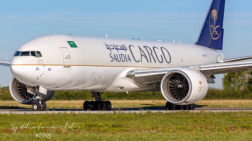 Saudi Airlines Cargo Boeing B777-2F HZ-AK71 | by SjPhotoworld