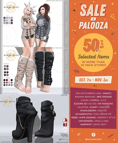 Sale-A-Palooza - Final Week!   by Rebel Hope