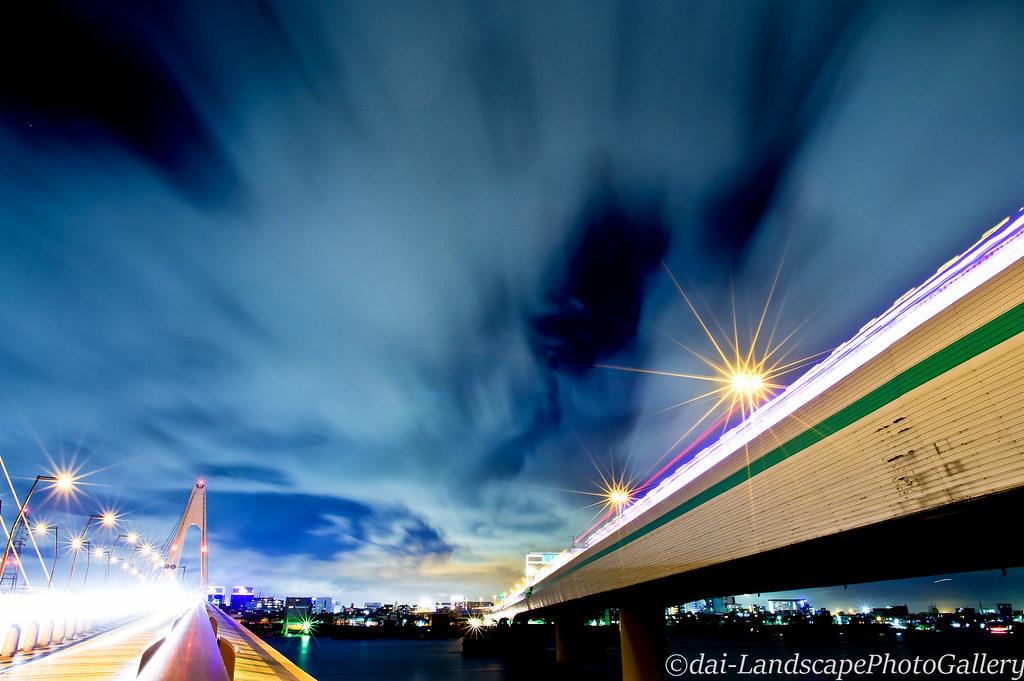 大師橋と高速大師橋夜景 | Dai Dai | Flickr