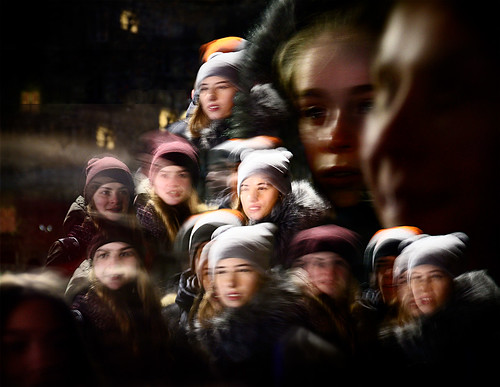 russie russia russiangirl night december31st faces kingisepp leningradskayaoblast